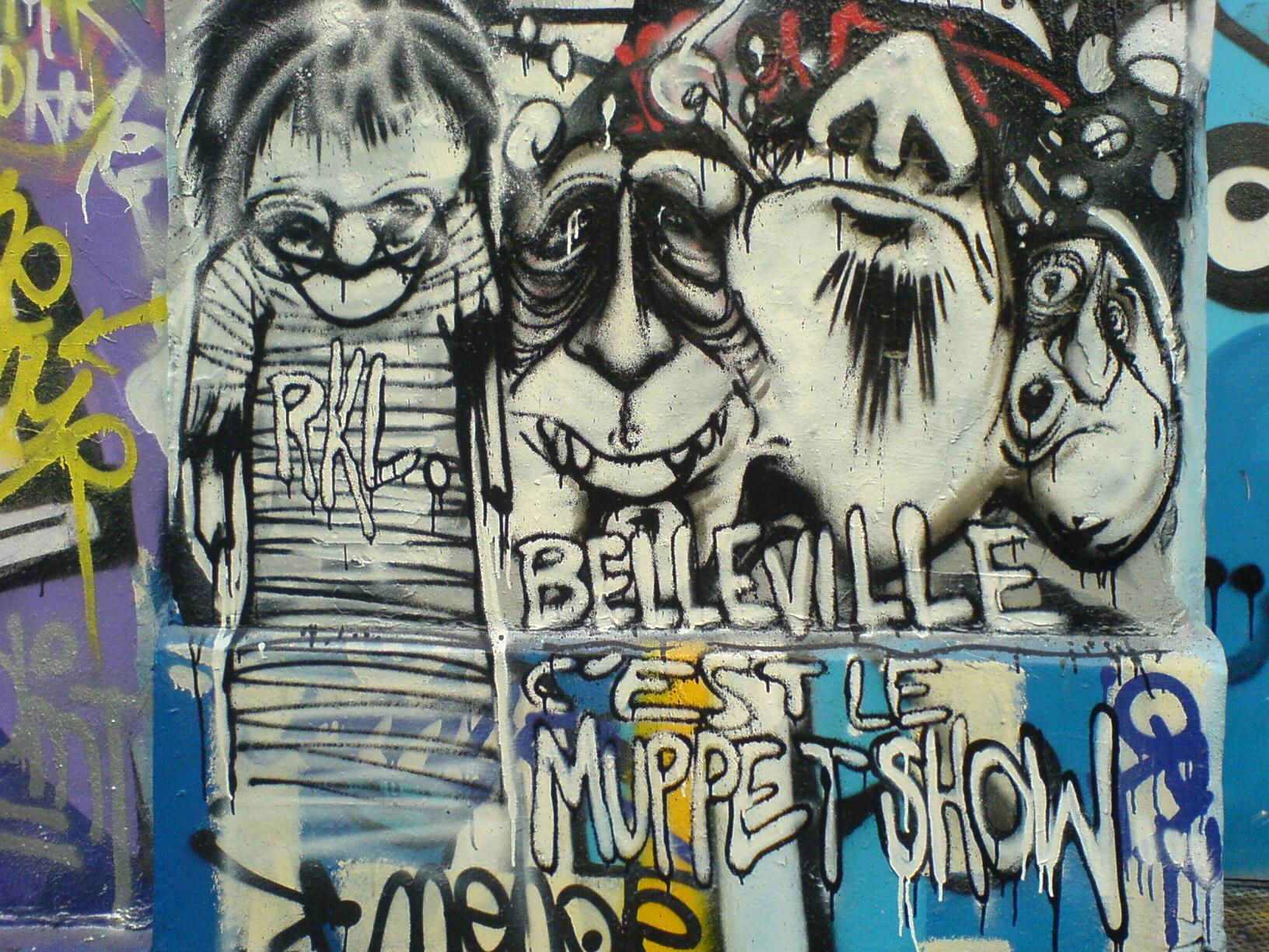 Belleville, c'est le muppet show